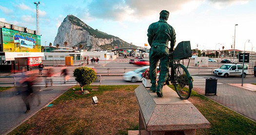 Statue of a Cyclist Image